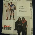 Grand Illusions McCalls Costume Pattern 4585 Anthony Cleopatra Allura Skulltar  UNCUT Size Small