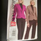 Misses Jacket Size 14,16,18,20 Butterick Sewing Pattern B4833