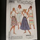 Simplicity 9201 Misses Pull on Skirt In Three Lengths