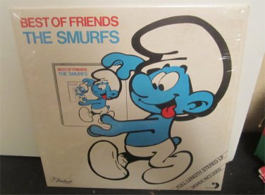 The Smurfs Best of Friends Record  1982 (80's cartoon)