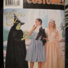 Simplicity Costume The Wizard of Oz-Dorothy,Mean Witch,Good Witch  Misses Size 12,14,16