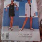 Donna Karan Designer Dress and Jacket Vogue Pattern 1569 Size 8,10,12