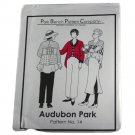 Park Bench Pattern Company Sewing Pattern #14 Audubon Park Swing Coat One Size Fits Most