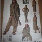 Sewing Pattern 2148 Adri Womens Jacket, Duster, Dress, Top, Slip & Pants Size 12 14 16  UnCut