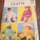McCall's 3473 Baby Doll Clothes in Three Sizes
