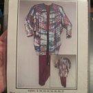 Pleats a Plenty Versatile Jacket Top pants Sewing Pattern