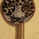 Jennifer Lopez Gold Tone Simulated Crystal Leopard Y Necklace