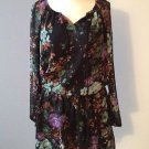 Jessica Simpson Laurelle Floral-Print Dress New With Tag Size XS Breezy Summer Dress