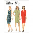 Butterick B5862 MISSES'/WOMEN'S DRESS Mock Wrap Pullover Dress  Size 18,20,22,24