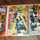 VENOM FUNERAL PYRE #1- #3 Comic Books  EXCELLENT COMPLETE SET 1993 FREE SHIPPING