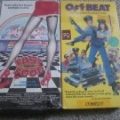 1980's Comedy VHS FAST FOOD (Traci Lords) and OFF BEAT (Meg Tilly) Movies FREE SHIPPING