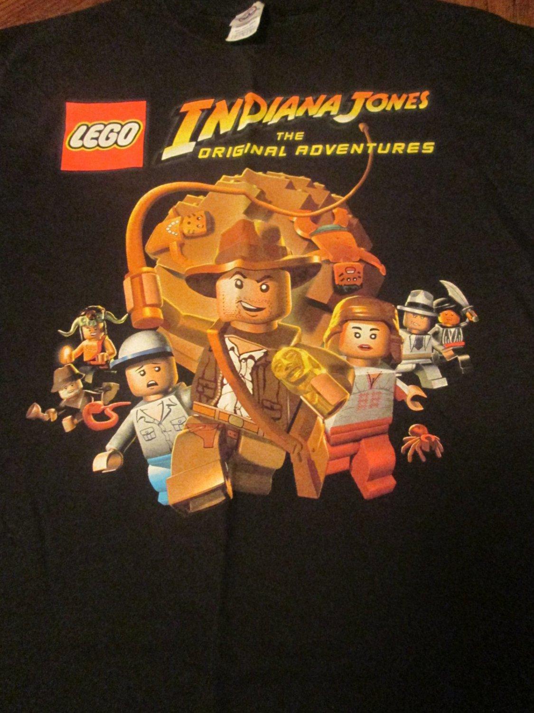 Lego Indiana Jones The Original Adventures T Shirt Size
