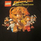 LEGO Indiana Jones The Original Adventures T-Shirt  Size Adult Large
