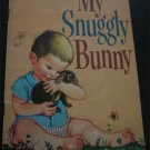 Vintage My Snuggly Bunny by Patsy Scarry 1956 FREE SHIPPING