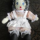 Handmade Sweet Raggedy Doll Cloth Rag Doll FREE SHIPPING