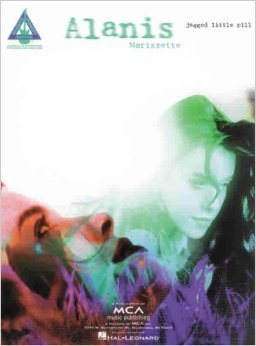 Alanis Morissette Jagged Little Pill Guitar Book.Softcover FREE SHIPPING