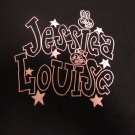 Official Jessica Louise Logo T Printed Shirt (Punk Rock.Soft Shirt) Size Large