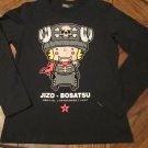 Jizo-Bosatsu Men's Size Small Long Sleeve Black Shirt FREE SHIPPING