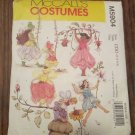 McCalls M5904 Childrens and Girls Fairy Costumes Size CDD 2 - 5 Sewing Pattern  FREE SHIPPING