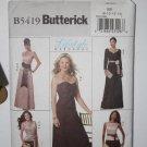 Butterick B5419 Formal Wardrobe MISSES' TOP, SKIRT AND SASH