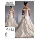 Vogue Patterns V1095 Misses' Dress, Size A (6-8-10) FREE SHIPPING