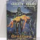 VINTAGE EMBOSSED MOVIE THEATER CREATURE FROM THE BLACK LAGOON METAL TIN SIGN