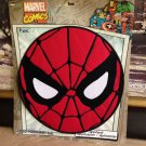 "SPIDER-MAN  LARGE 10""X10"" Round EMBROIDERED IRON-ON BACK PATCH spiderman marvel"