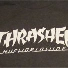 THRASHER HUF WORLD WIDE T-Shirt Size Adult Small FREE SHIPPING