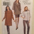 Vogue Pattern V8520 - Misses' Jacket (sizes 16-22) Very Easy