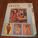 "McCall's 9666 Global Friends 14""-18"" Doll Pattern China Egypt UNCUT factory fold"