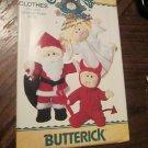 Vintage New Butterick Pattern 4077 Cabbage Patch Kids Christmas santa,Devil Angel