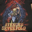 Avenged Sevenfold Hard to Find HEAVY METAL Band Shirt Size Small