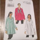 Very Easy to Make Vogue 9058 Fitted Tunic Top Shirt Blouse Sewing Pattern V9058