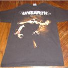 UNEARTH The March Tour 2009 Concert Shirt Size Medium FREE SHIPPING