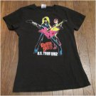 Guitar Hero  U.S. Tour 1982 Ladies Shirt ~Glam Rock~
