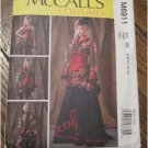 McCall's M6911 Misses' Bolero, Corset, Skirt and Overskirt SteamPunk Sewing Pattern FREE SHIPPING