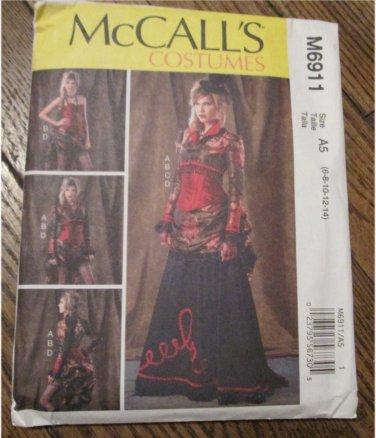 McCall\'s M6911 Misses\' Bolero, Corset, Skirt and Overskirt SteamPunk ...
