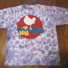 Woodstock Rome NY Music Festival T-Shirt Size Large Tie Dye FREE SHIPPING
