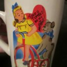 Take a Tumble Be My Valentine Vintage Looking Coffee Mug Cup Rosanna Studio FREE SHIPPING
