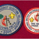 Virginia United Methodist Scouting Fellowship 2000 2001 One Nation Under God FREE SHIPPING