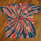 Hollister Motorcycle Week California American Biker Tie Dye 1947-2014  Size LARGE Shirt
