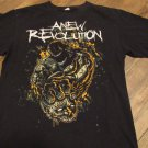 ANEW REVOLUTION Head Against The Wall Rock Concert Band Shirt