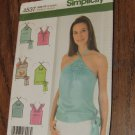 Simplicity Sewing Pattern 4537 Misses Size 12-14-16-18 Halter Summer Tops UNCUT