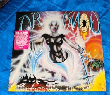 Dr. Know � Wreckage In Flesh LP Vinyl 1988 RARE Thrash METAL, Hardcore DEATH RECORDS