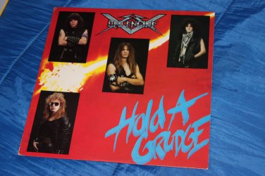 Ded Engine � Hold A Grudge LP obscure Metal Smashed Gladys 80's RARE