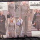 Tamotsu Vogue Pattern 2041 Wardrobe Jacket Pants Skirt Coat Suit Size 8-12 UNCUT