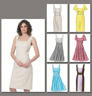 173a82fc4ecf3 Vogue Sewing Pattern 8648 Options Misses' Summer Princess seams ...