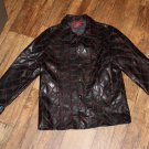 Vintage Lip Service SEX Long Coat Jacket Size Large FREE SHIPPING