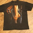Vintage Bruce Springsteen World Tour 1992-93 Concert T-Shirt Black Size Large