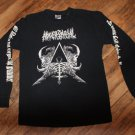 Adversarial''All Idols Fall Before the Hammer'' longsleeve DEATH METAL Size Small FREE SHIPPING